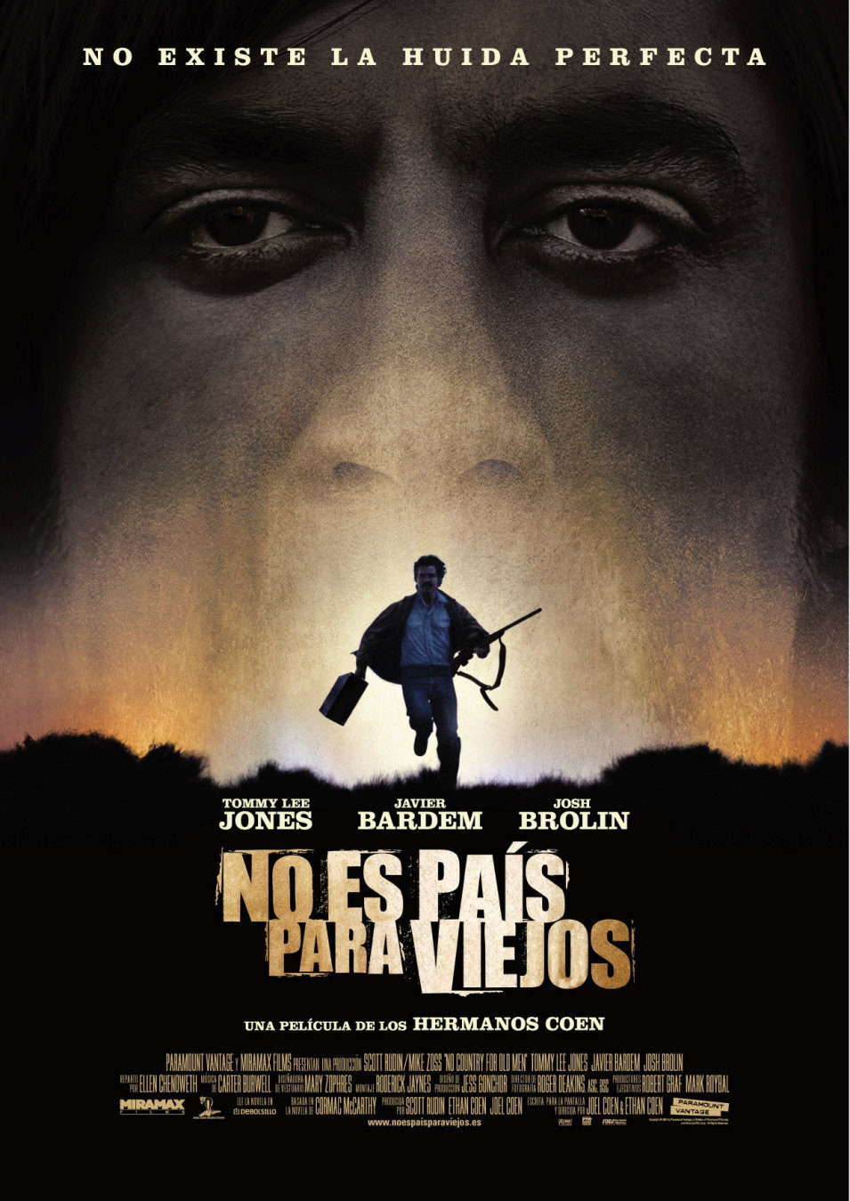 poster for No Country for Old Men