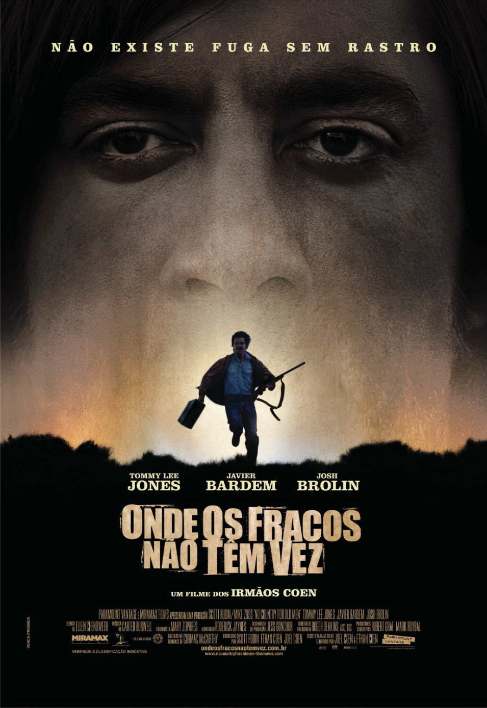Portugal poster for No Country for Old Men