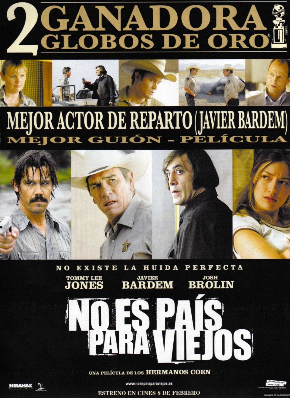 España poster for No Country for Old Men