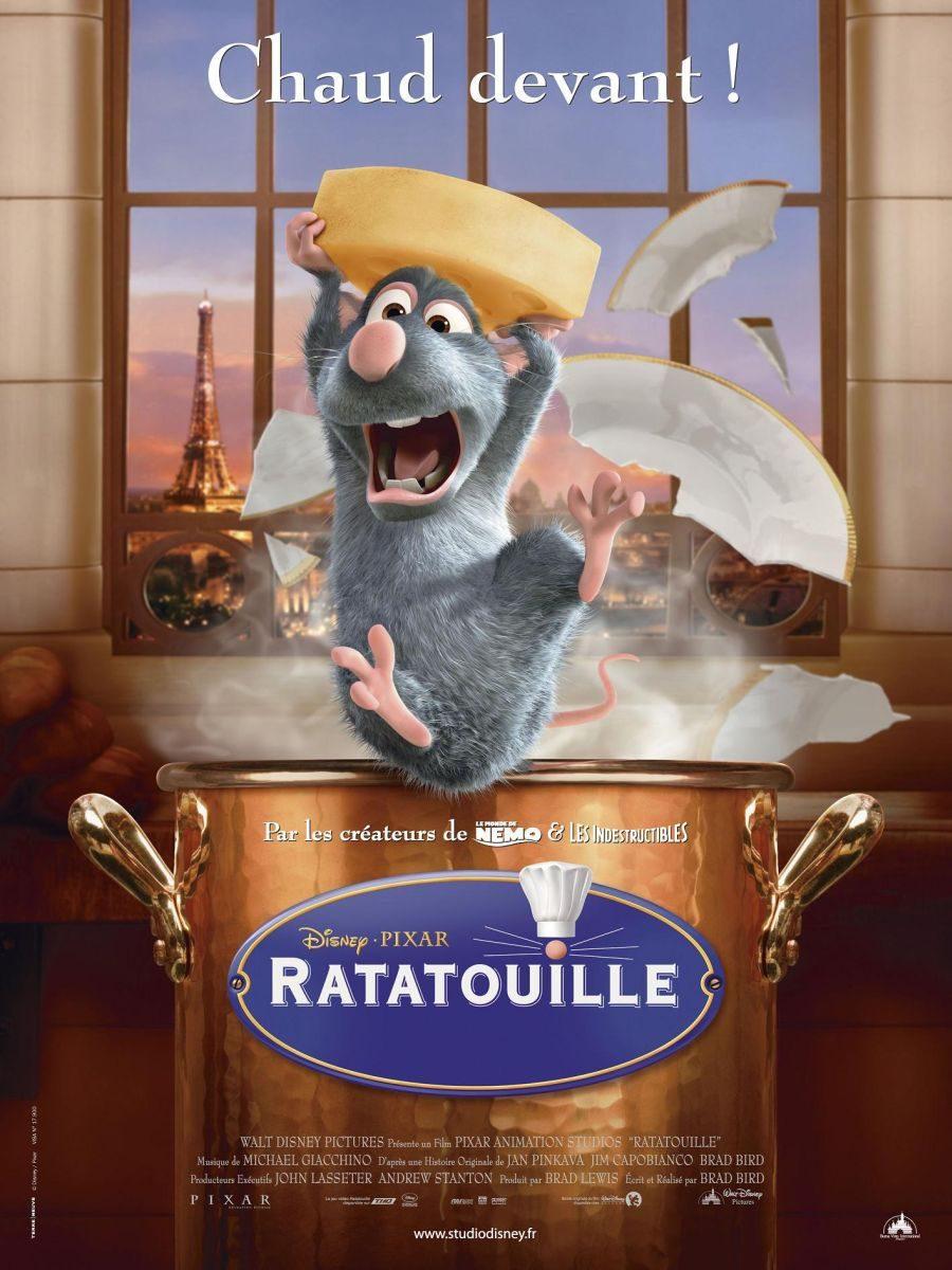 Francia poster for Ratatouille