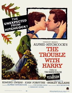 The Trouble with Harry poster