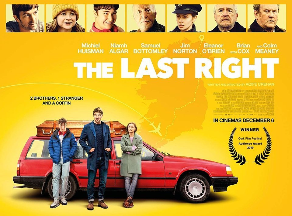 The Last Right poster for The Last Right