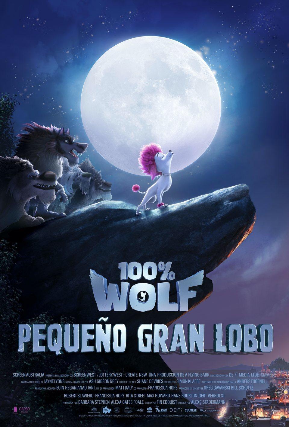 España poster for 100% Wolf