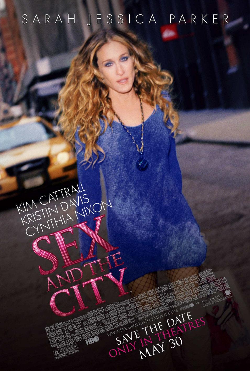 Estados Unidos poster for Sex and the City: The Movie