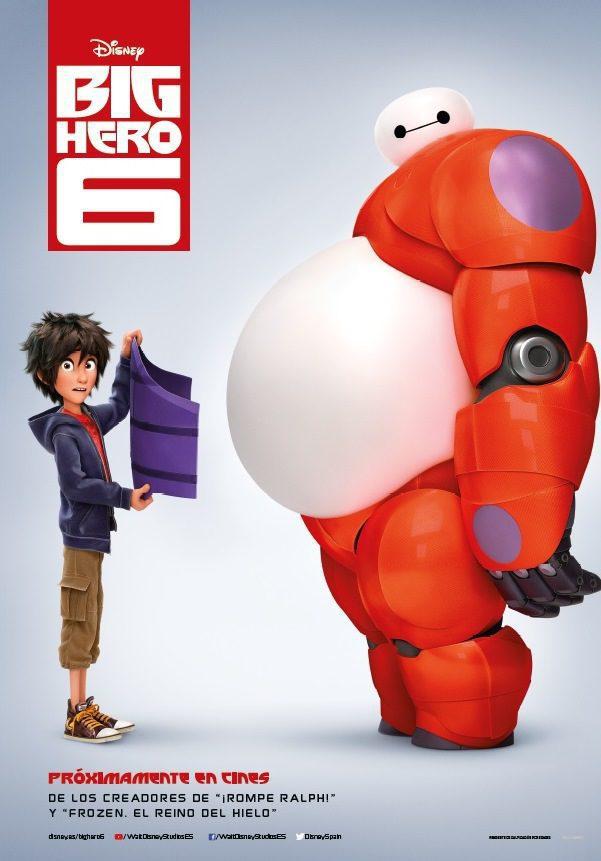 España poster for Big Hero 6