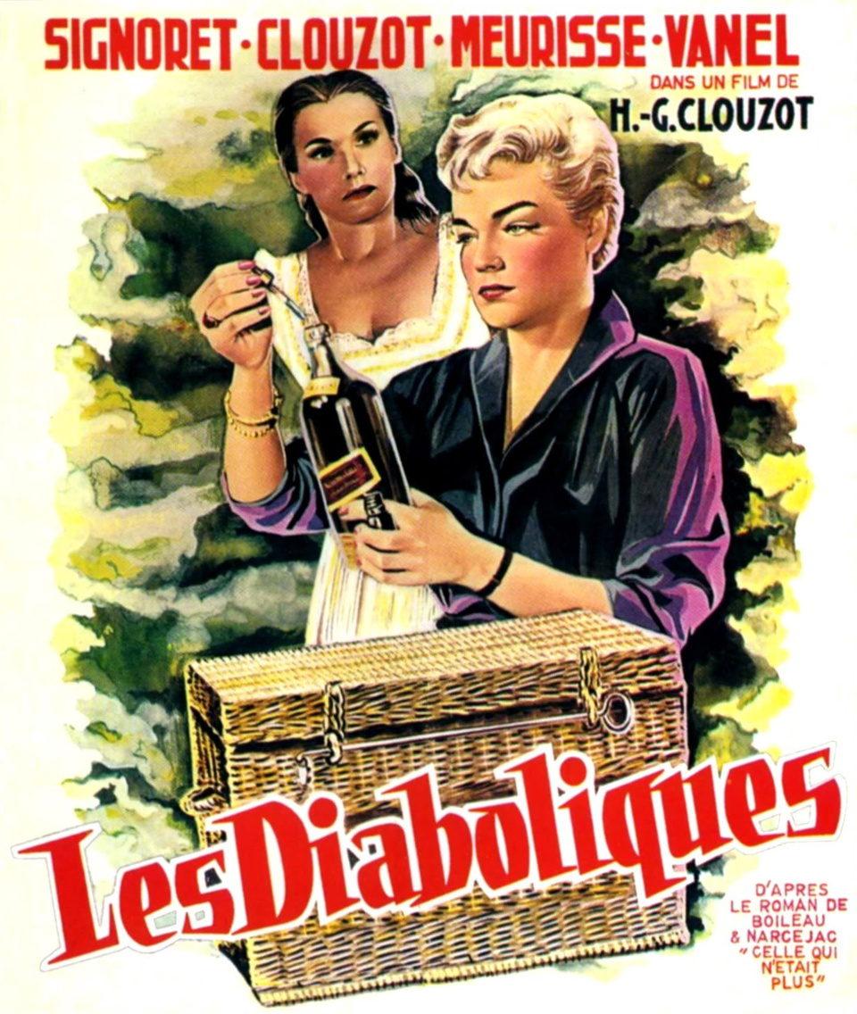 Francia poster for Les Diaboliques