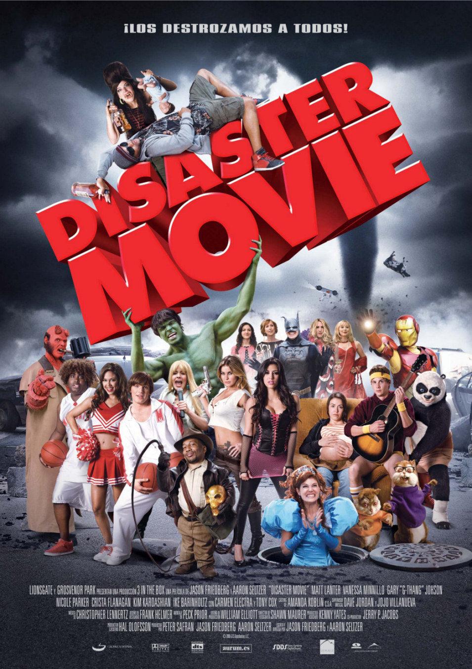 España poster for Disaster Movie