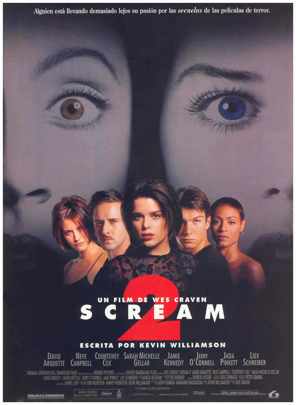 España poster for Scream-2