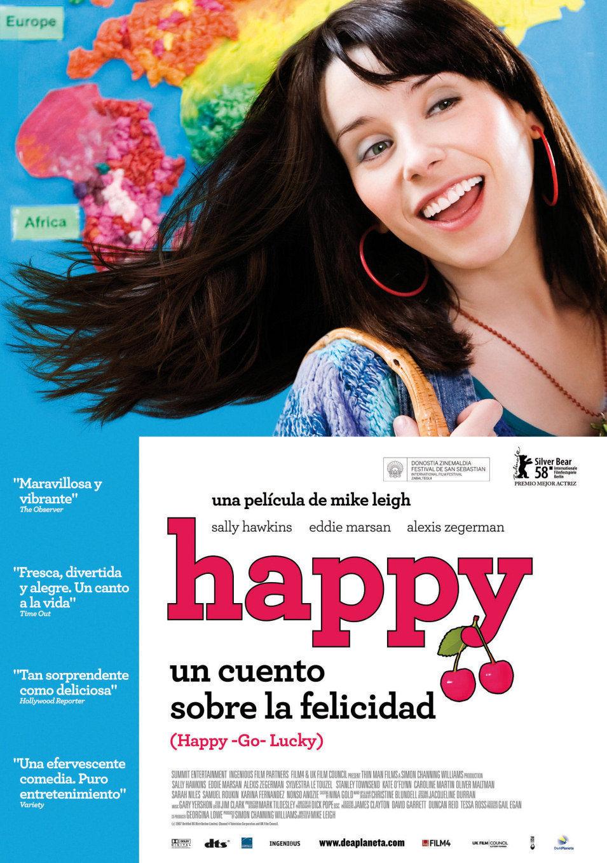 España poster for Happy-Go-Lucky