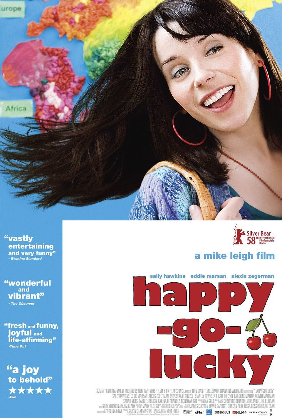 EEUU poster for Happy-Go-Lucky
