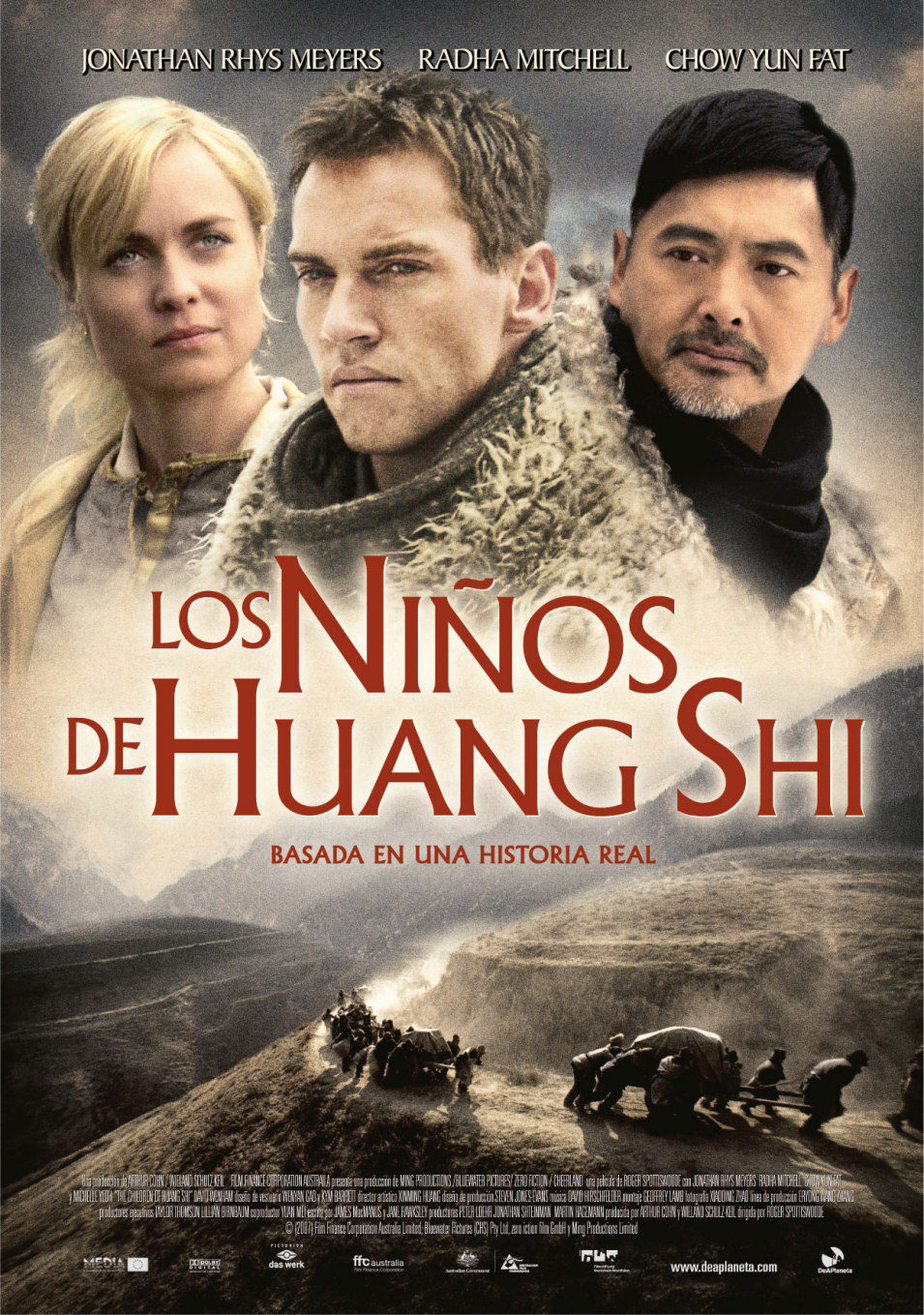 España poster for The Children of Huang Shi