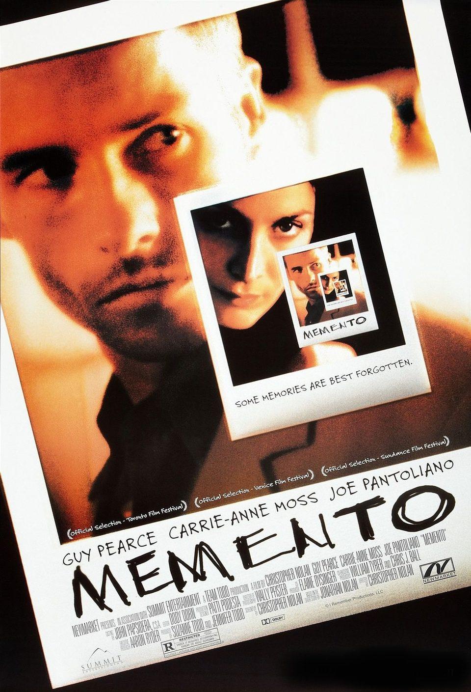 Estados Unidos poster for Memento