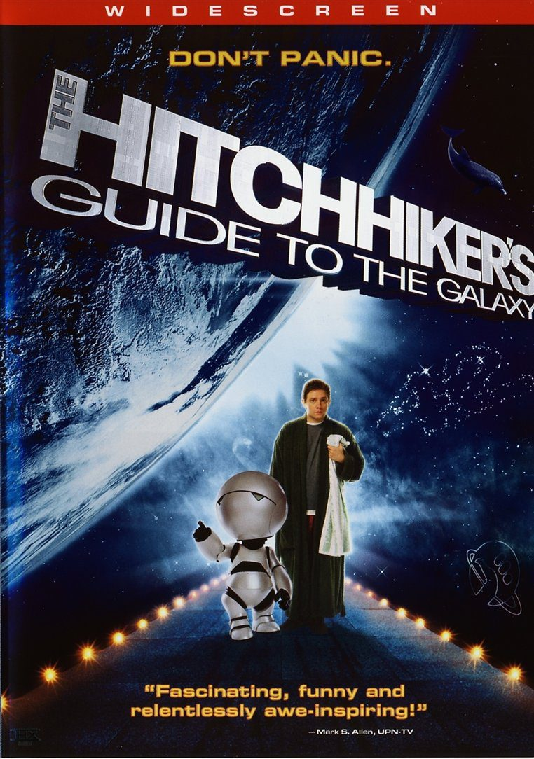 Reino Unido poster for The Hitchhiker's Guide to the Galaxy
