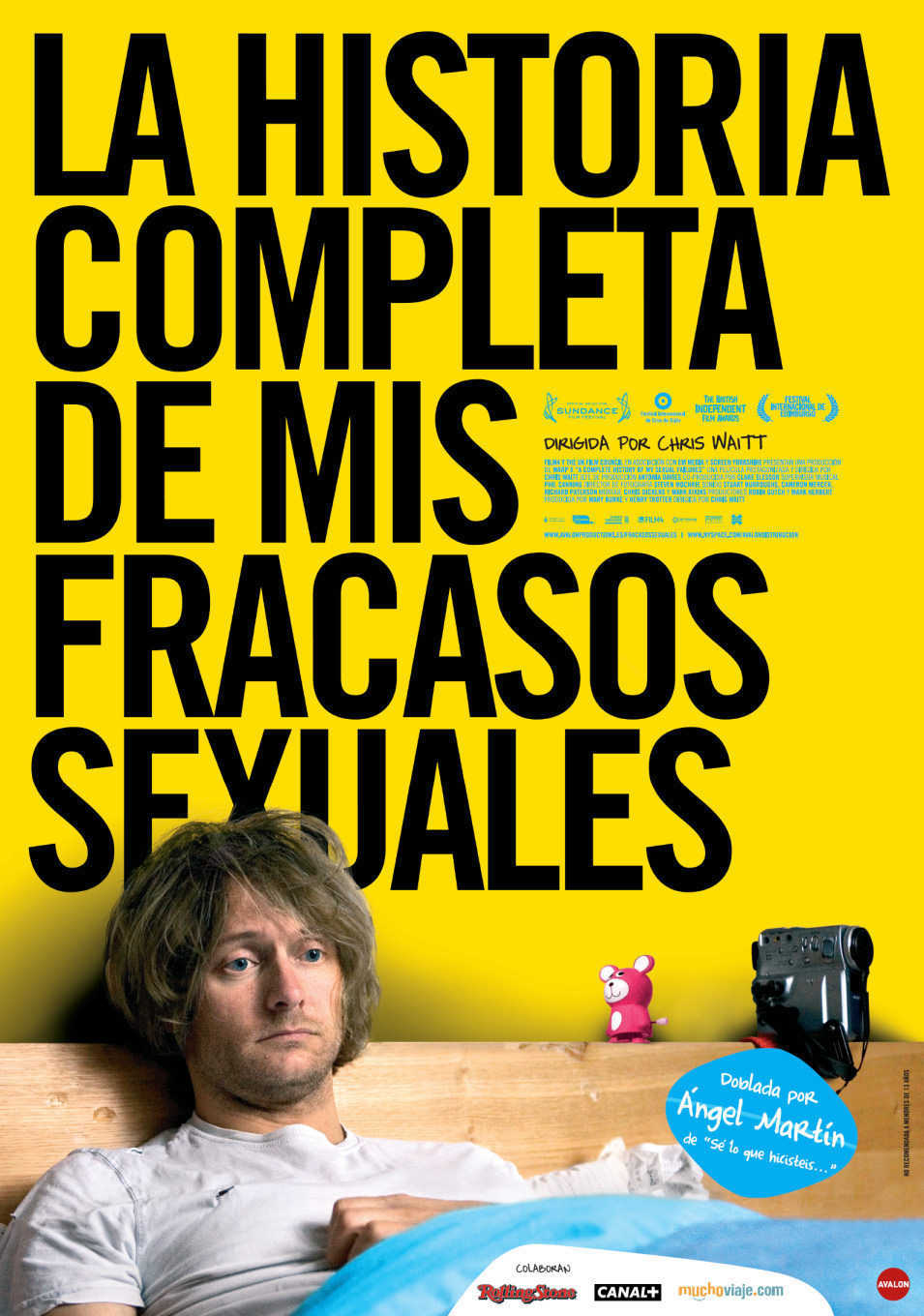 España poster for A Complete History of My Sexual Failures