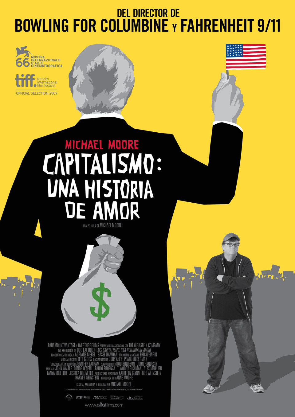 España poster for Capitalism: A Love Story