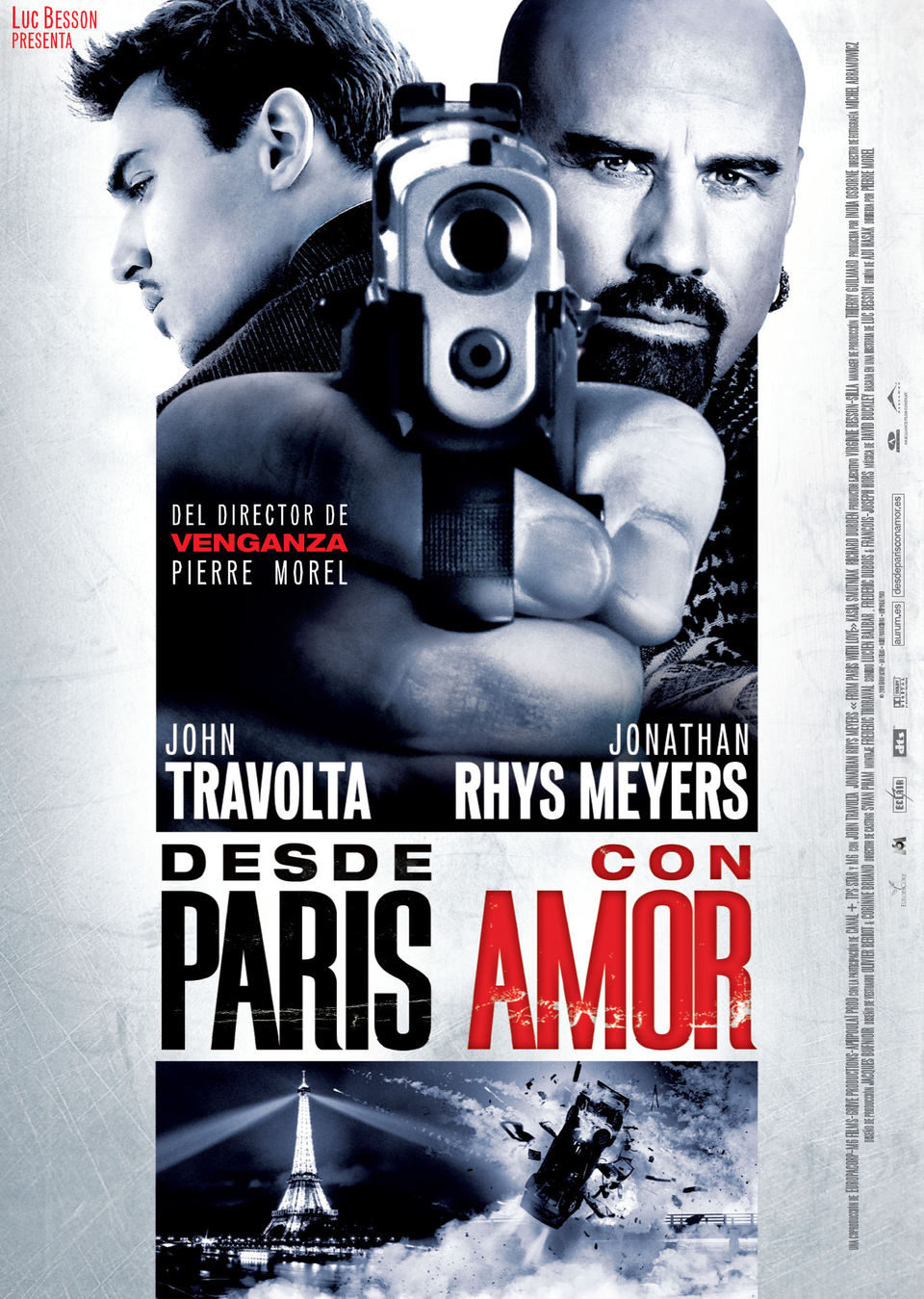 España poster for From Paris with Love