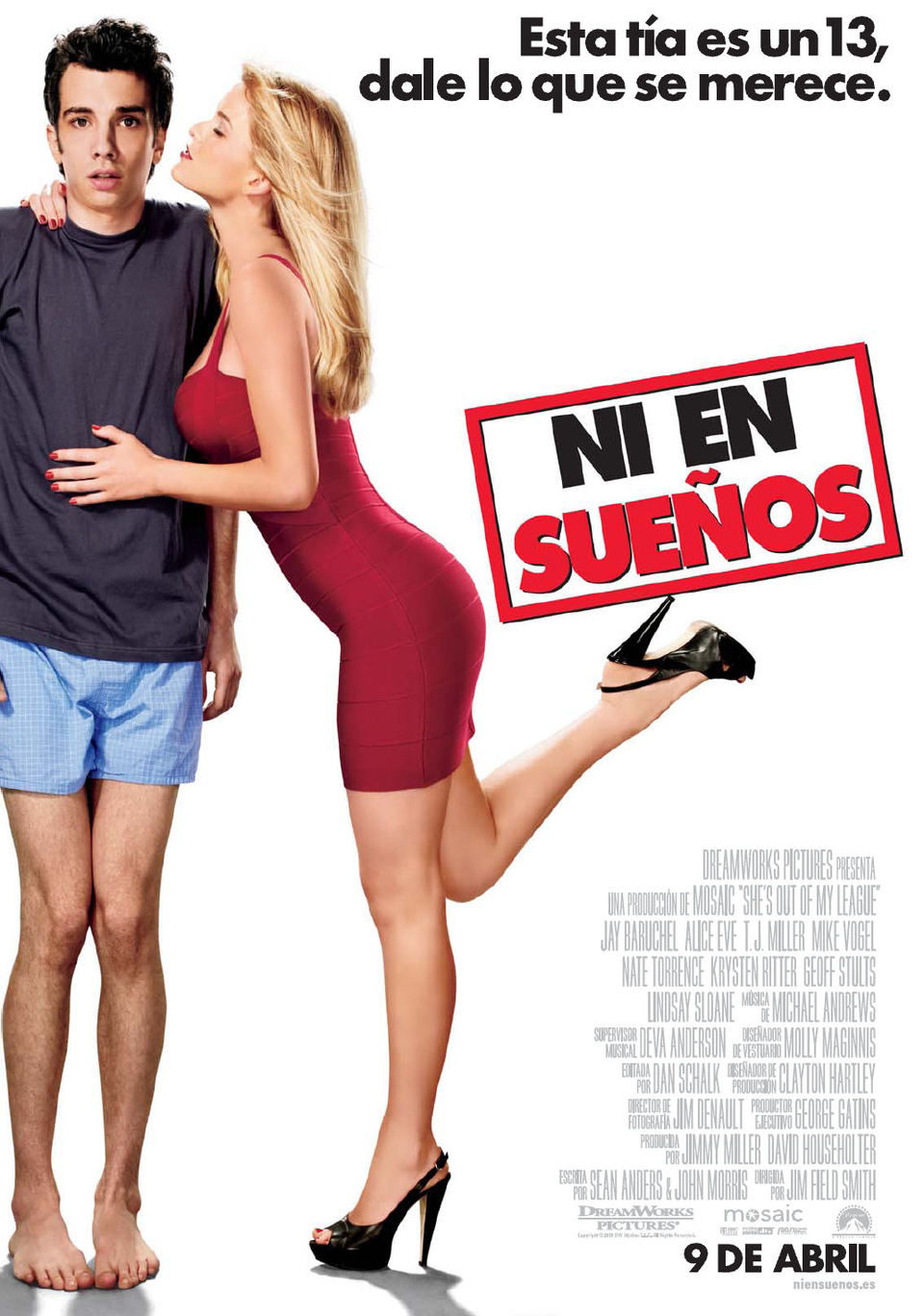 España poster for She's Out of My League