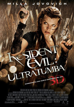 Resident Evil 4: Afterlife poster