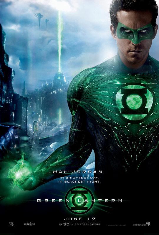 Cartel de 'Linterna Verde' poster for Green Lantern