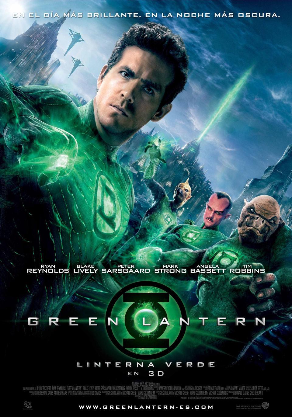España poster for Green Lantern