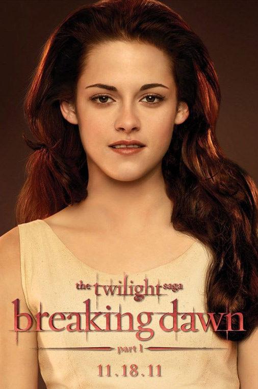 Kristen Stewart poster for The Twilight Saga: Breaking Dawn - Part 1