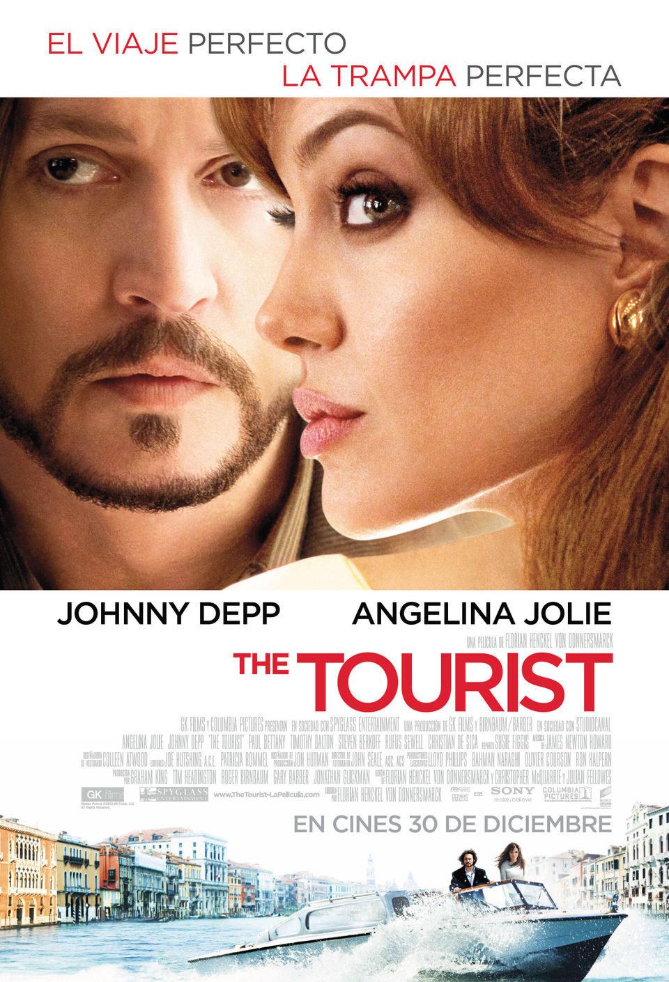 España poster for The Tourist