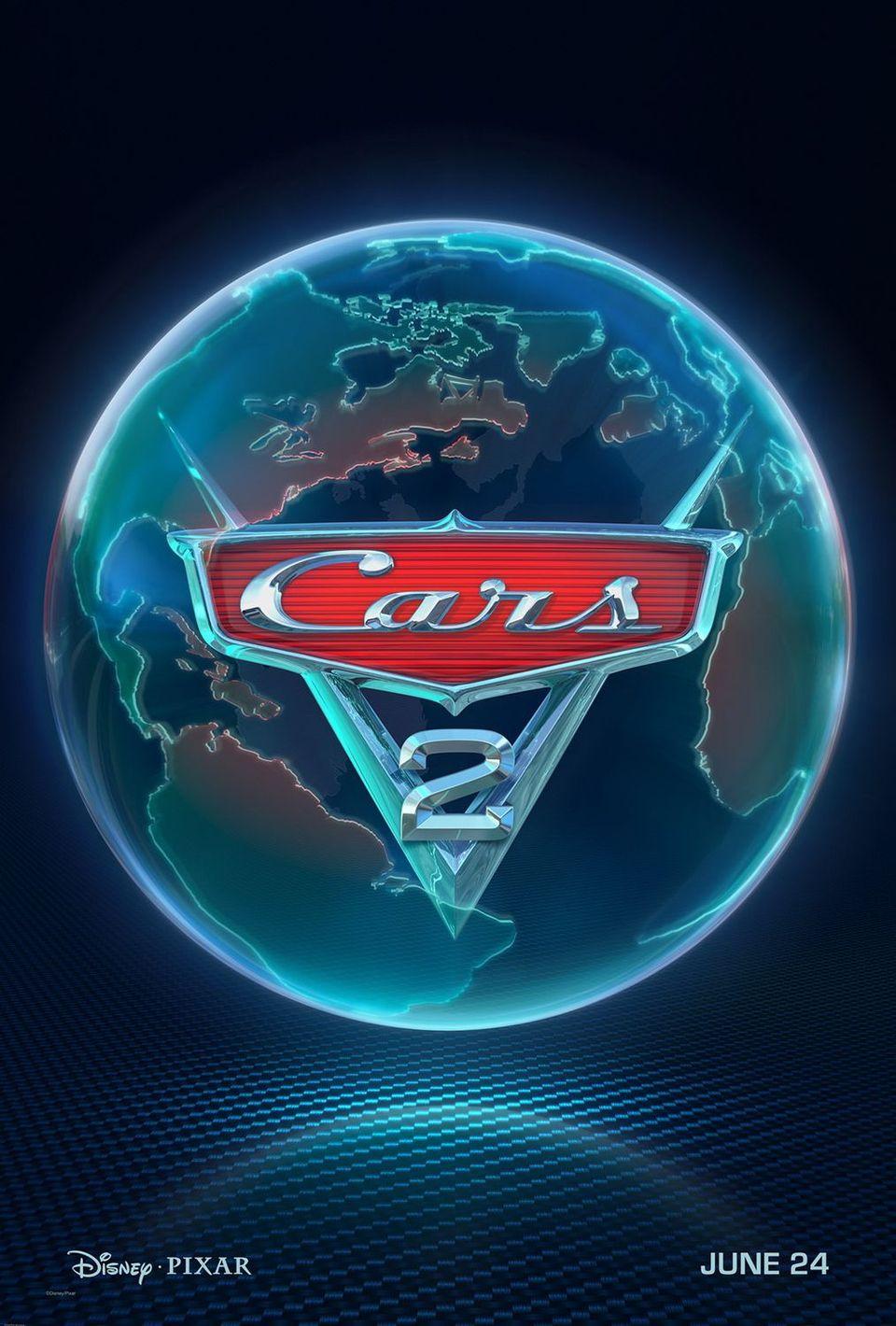 Teaser Estados Unidos poster for Cars 2