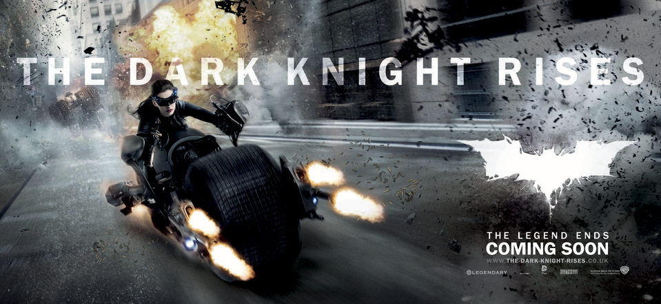 Banner #2 poster for The Dark Knight Rises