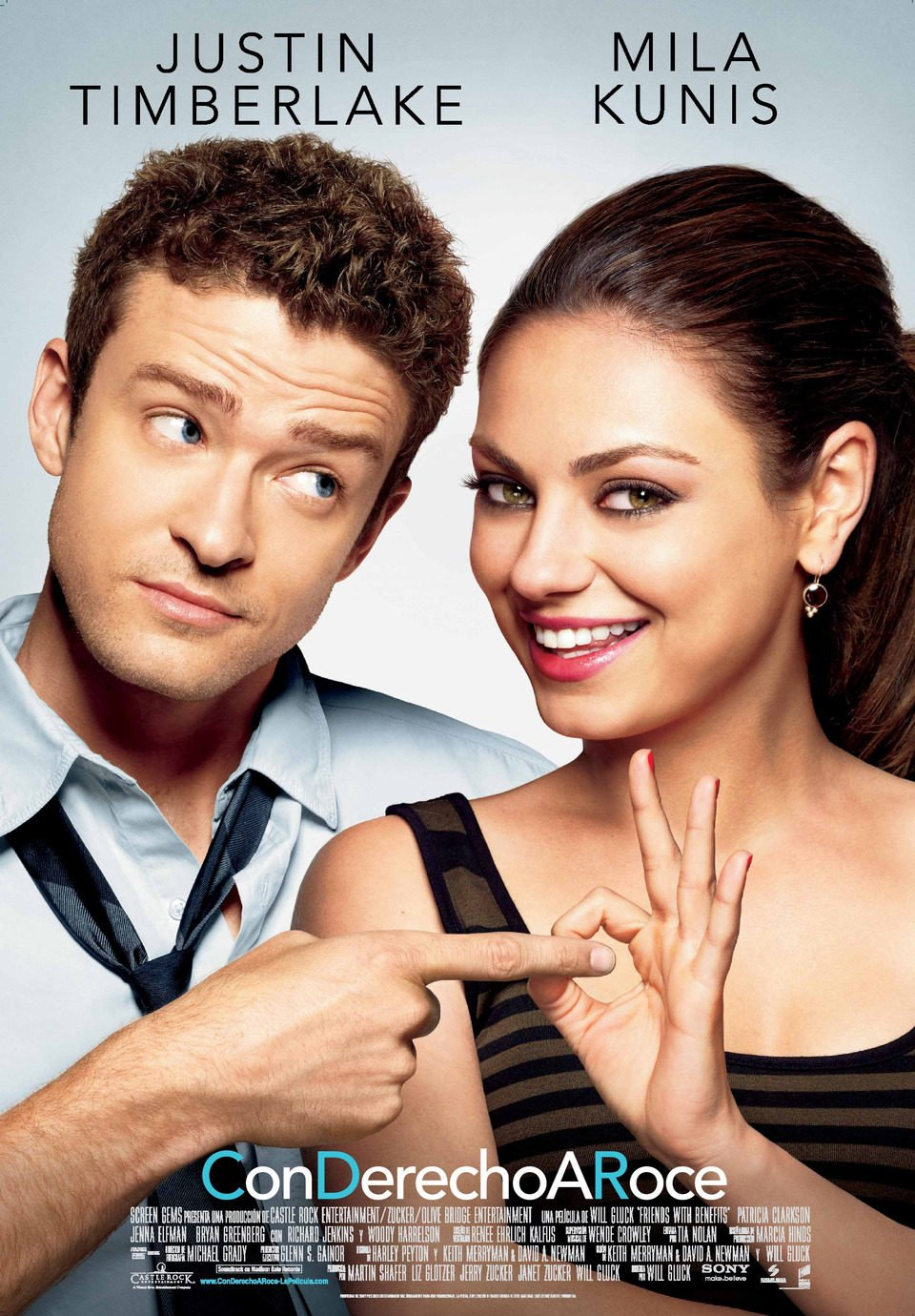 España poster for Friends with Benefits