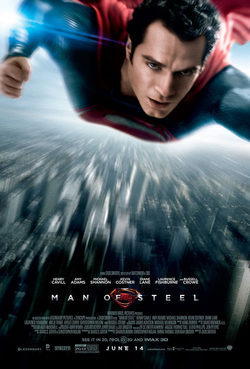 Man of Steel poster