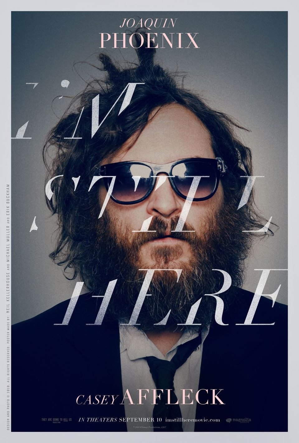 Estados Unidos poster for I'm Still Here: The Lost Years of Joaquin Phoenix