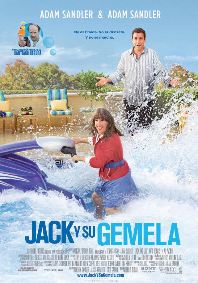 España poster for Jack & Jill