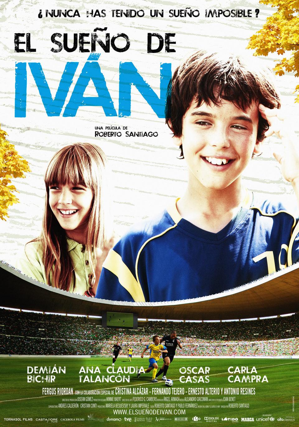 España poster for Ivan's Dream