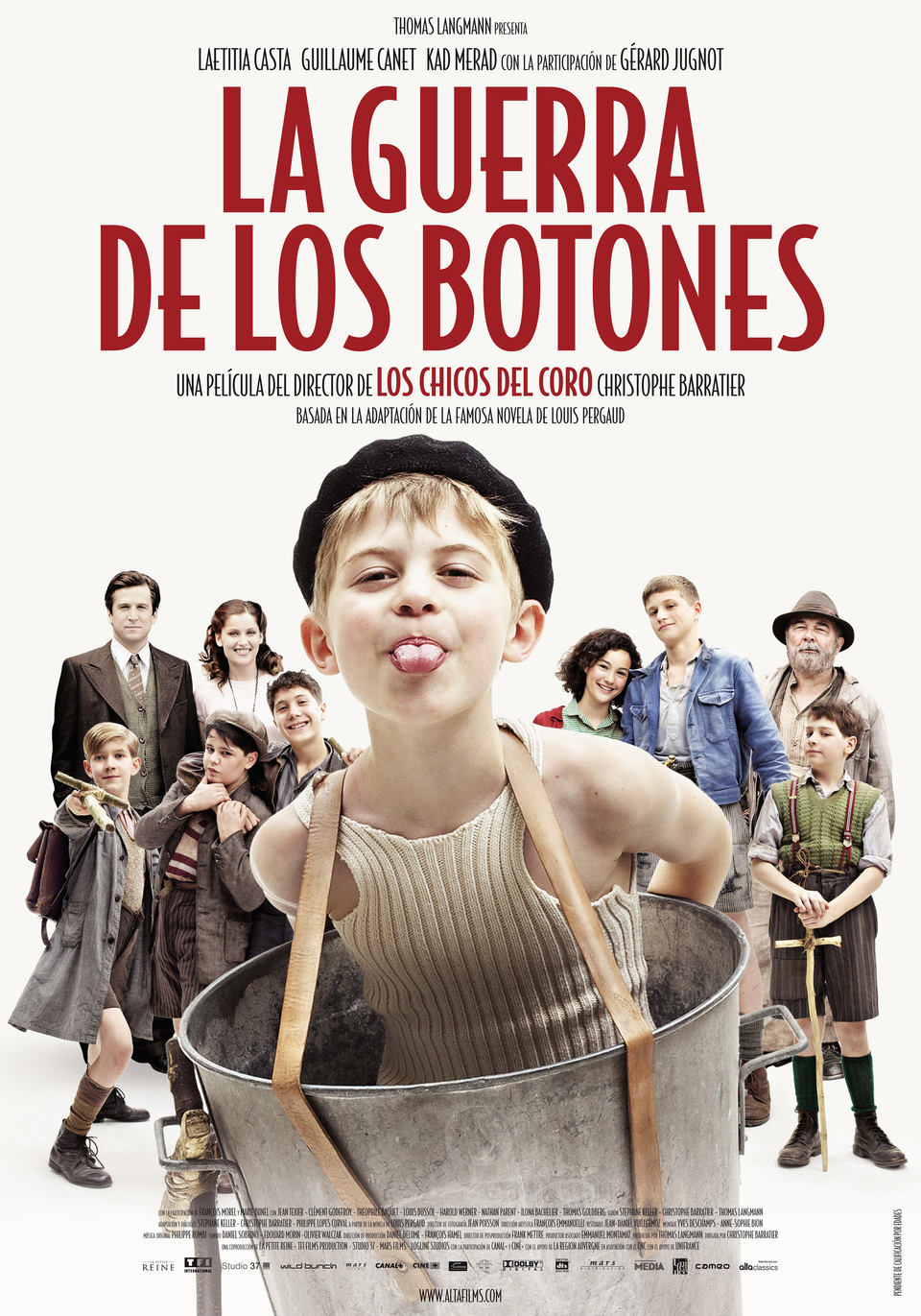 España poster for War of the Buttons