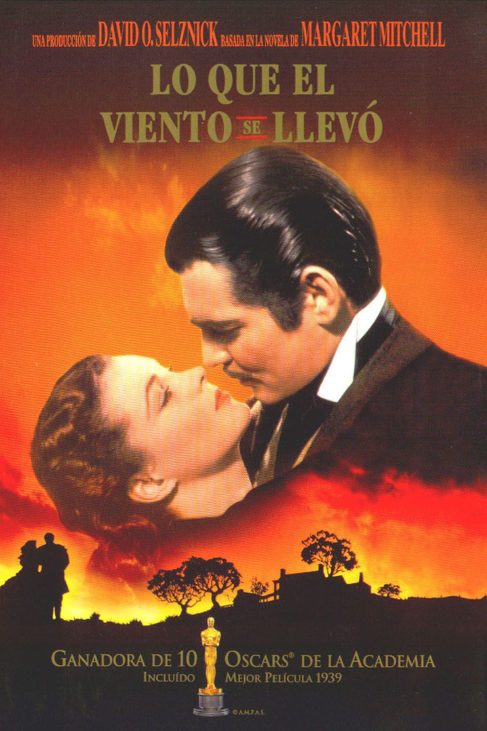 España poster for Gone With the Wind