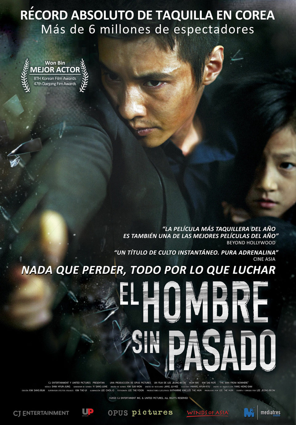 España poster for The Man From Nowhere