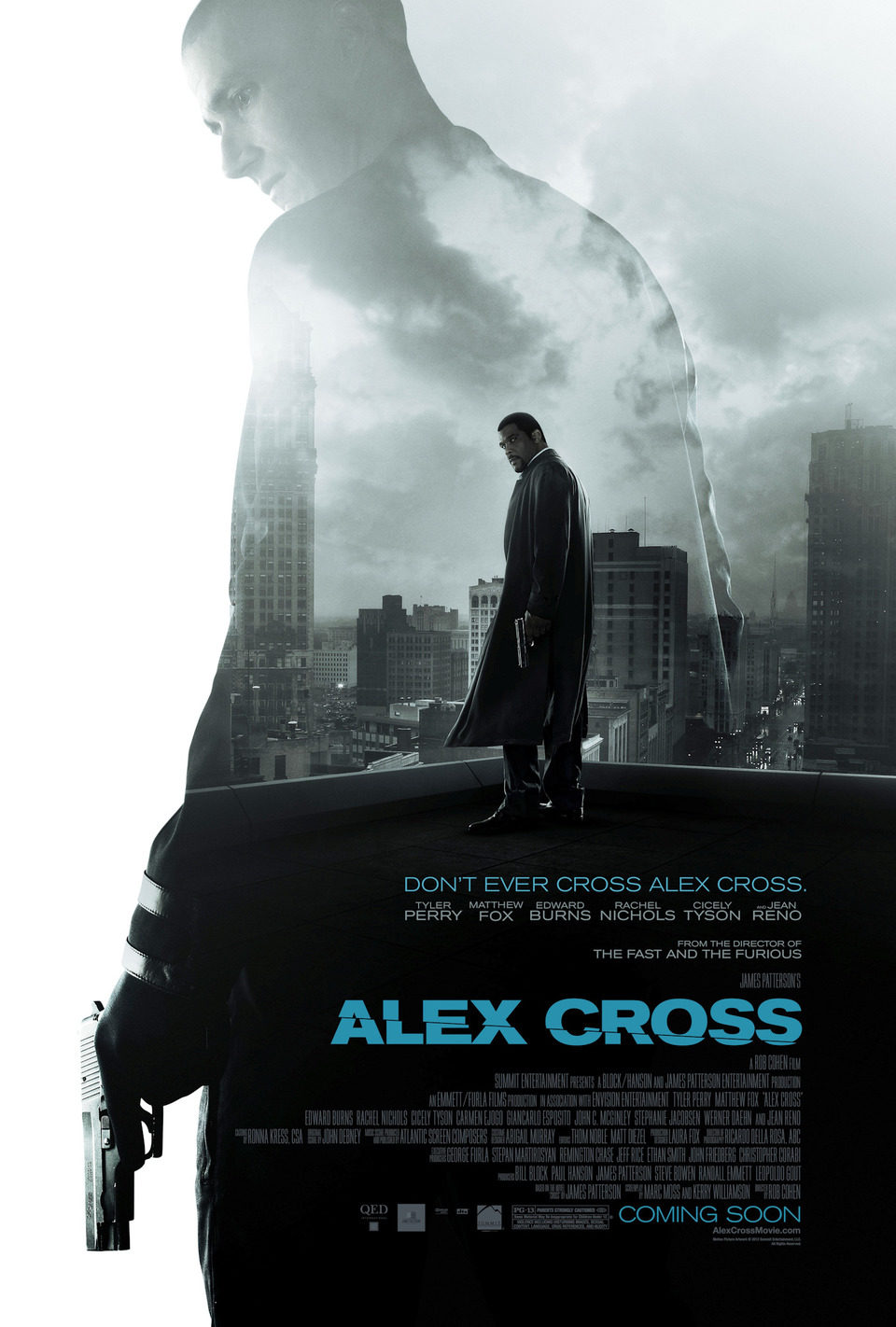 EEUU poster for Alex Cross