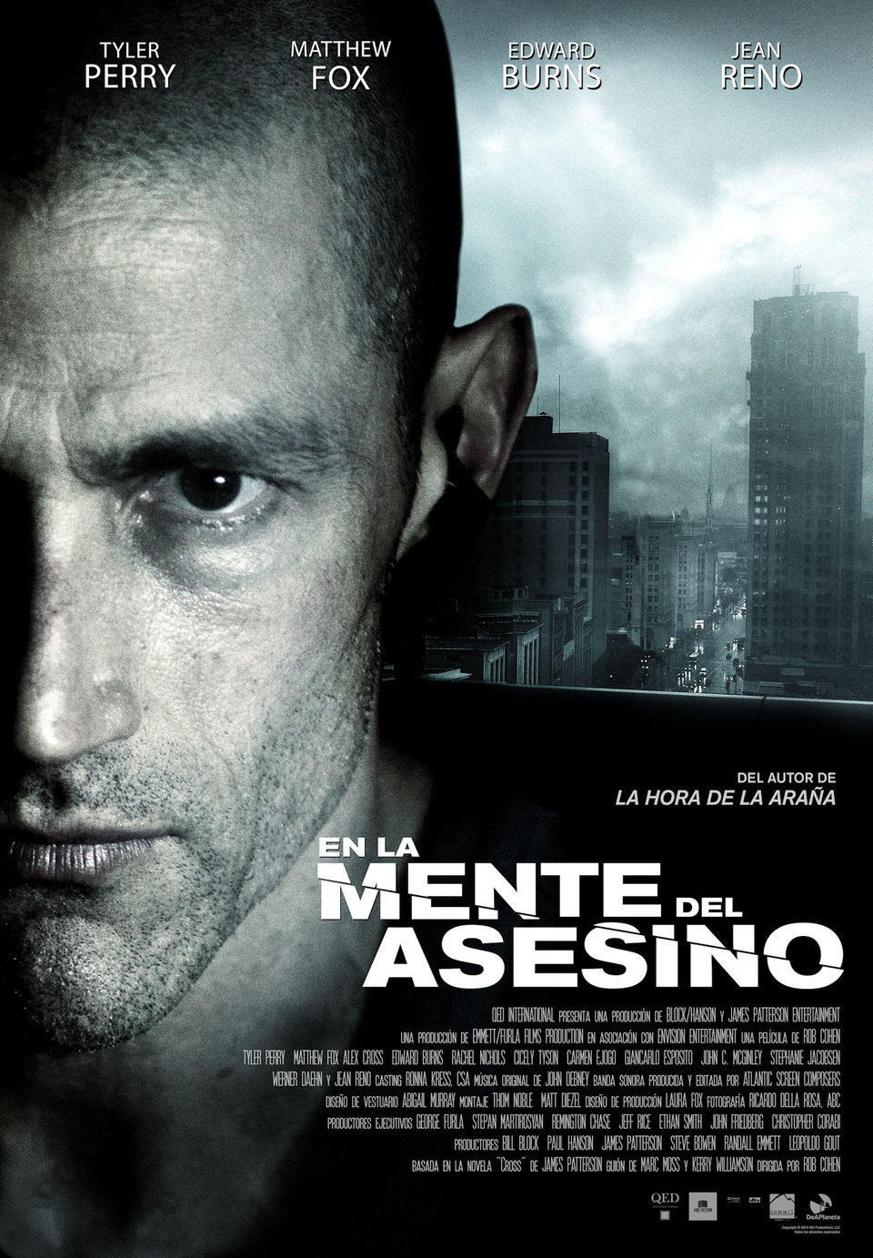 España poster for Alex Cross