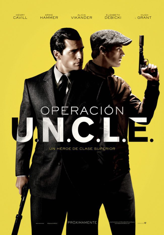 España poster for The Man from U.N.C.L.E.