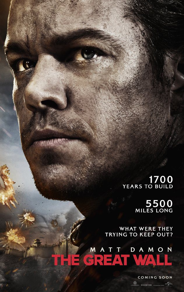 EE.UU. poster for The Great Wall