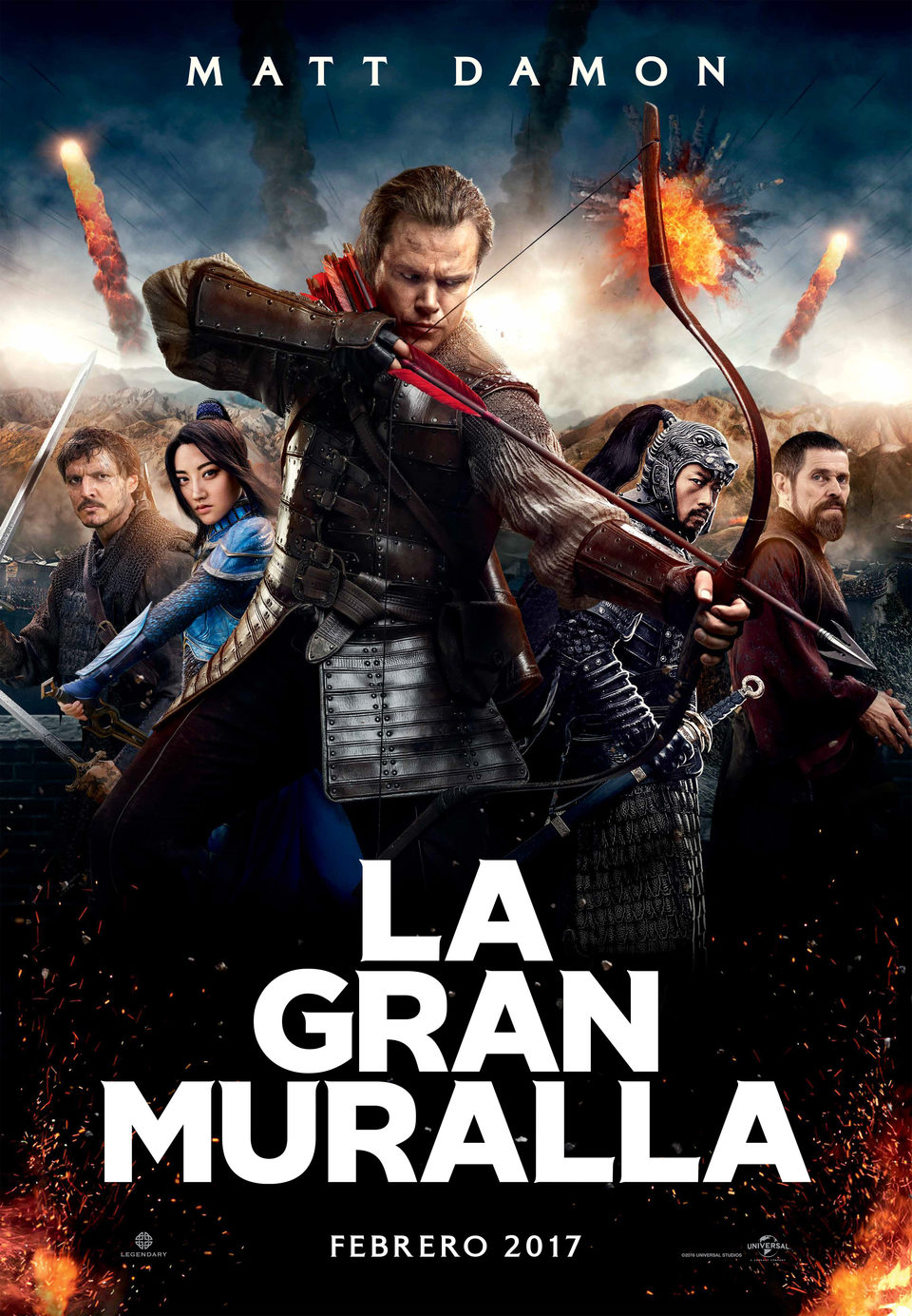 España ·#2 poster for The Great Wall