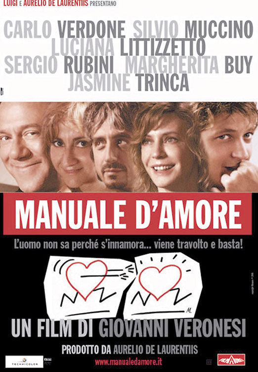 Italia poster for The Manual of Love