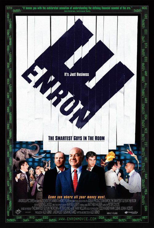 enron movie Variety is reporting that columbia pictures has acquired the screen rights to the lucy prebble-written play, enron, which dramatizes the scandalous rise and fall of.