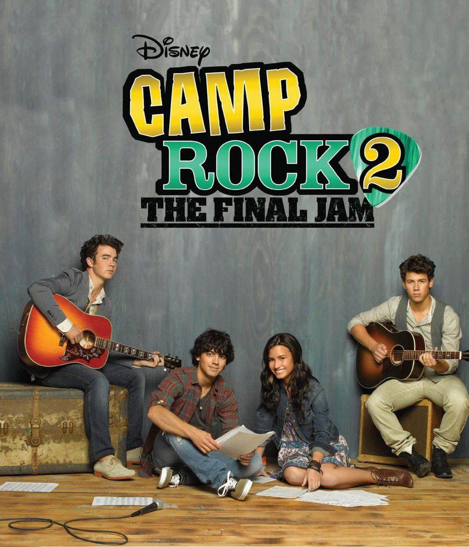 Estados Unidos poster for Camp Rock 2: The Final Jam