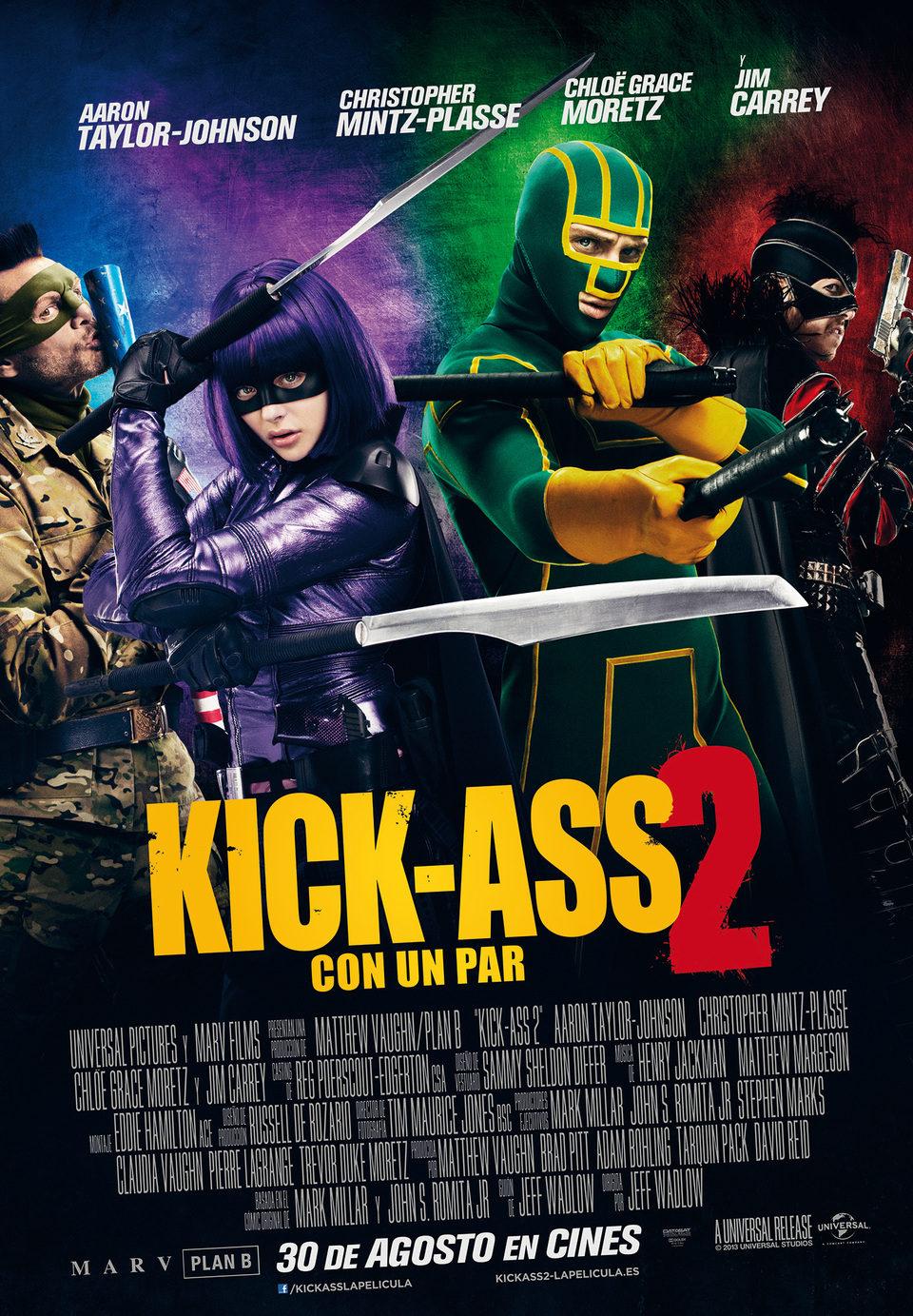 España poster for Kick-Ass 2