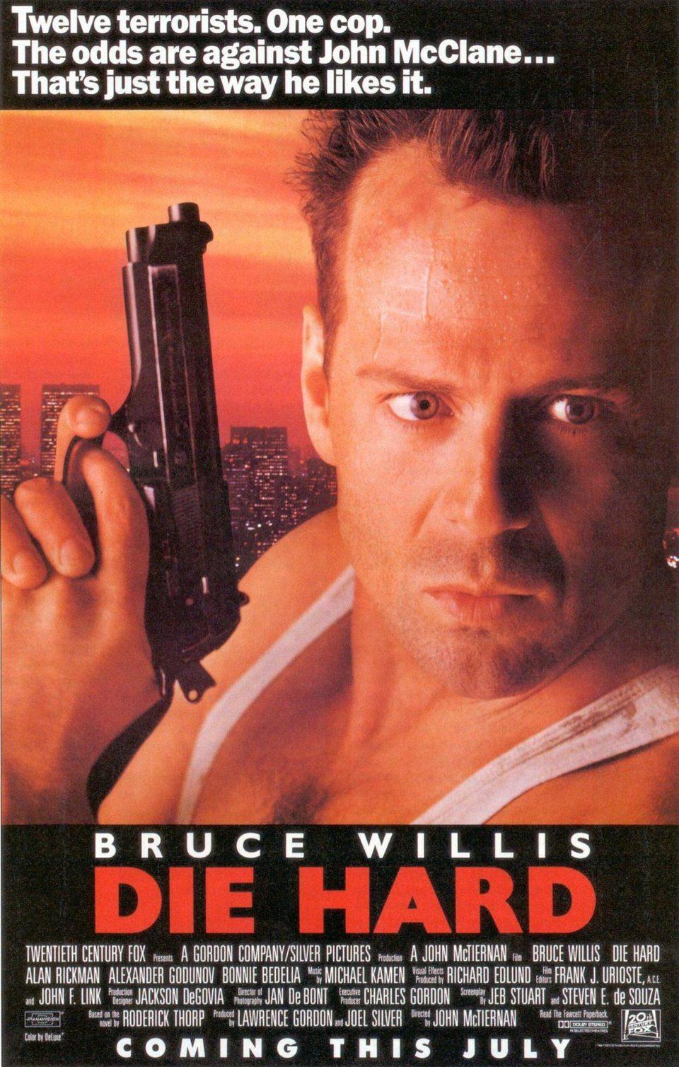 Estados Unidos poster for Die Hard