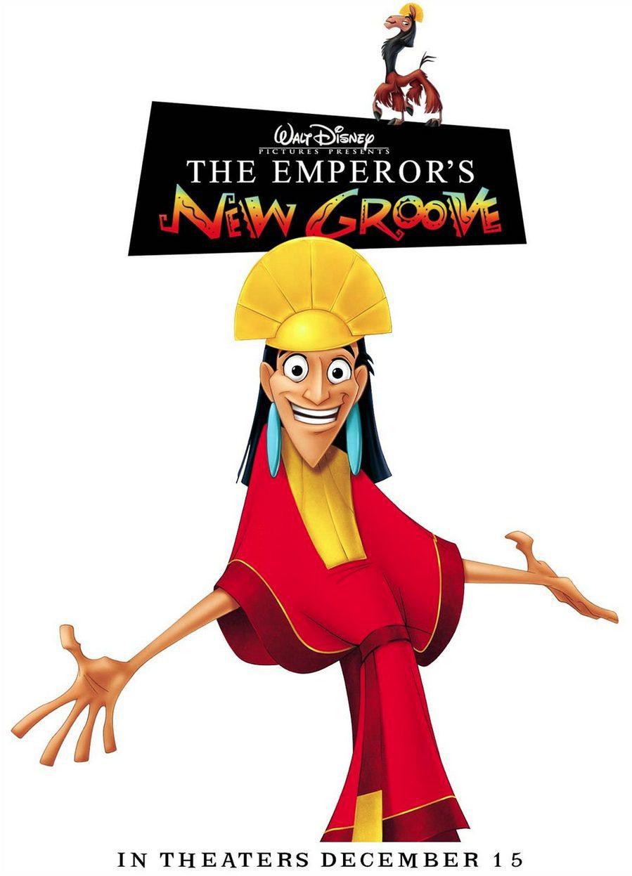 Estados Unidos poster for The Emperor's New Groove