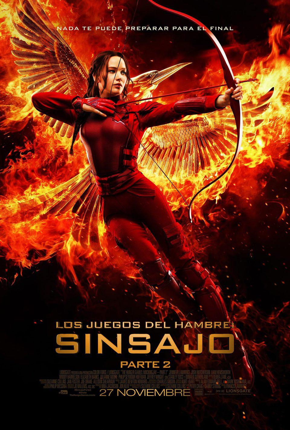 España 3 poster for The Hunger Games: Mockingjay - Part 2