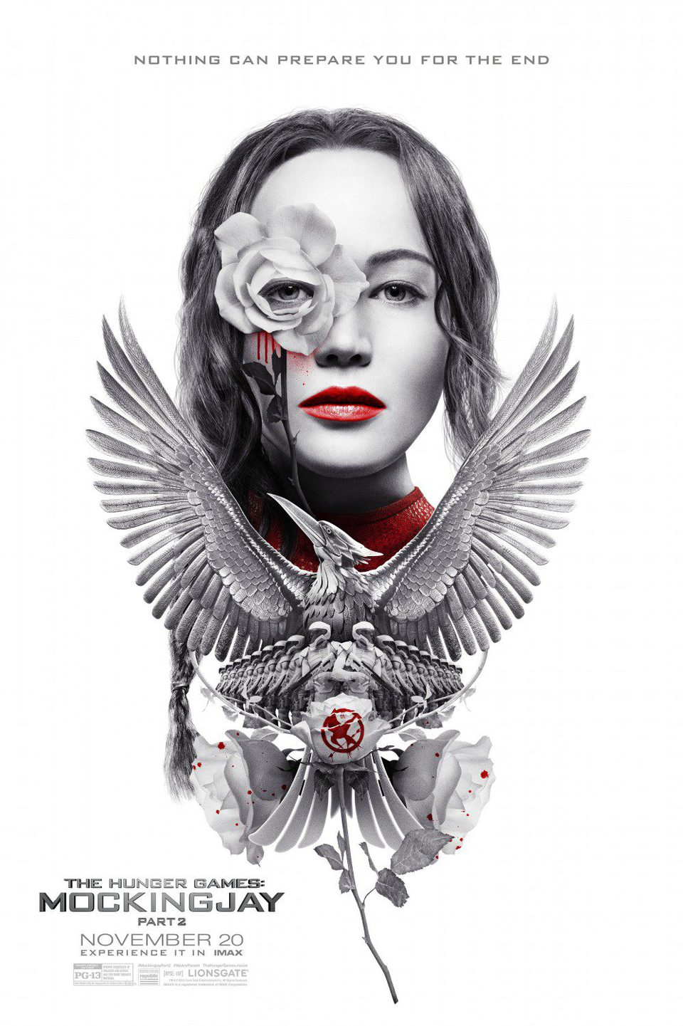 IMAX poster for The Hunger Games: Mockingjay - Part 2