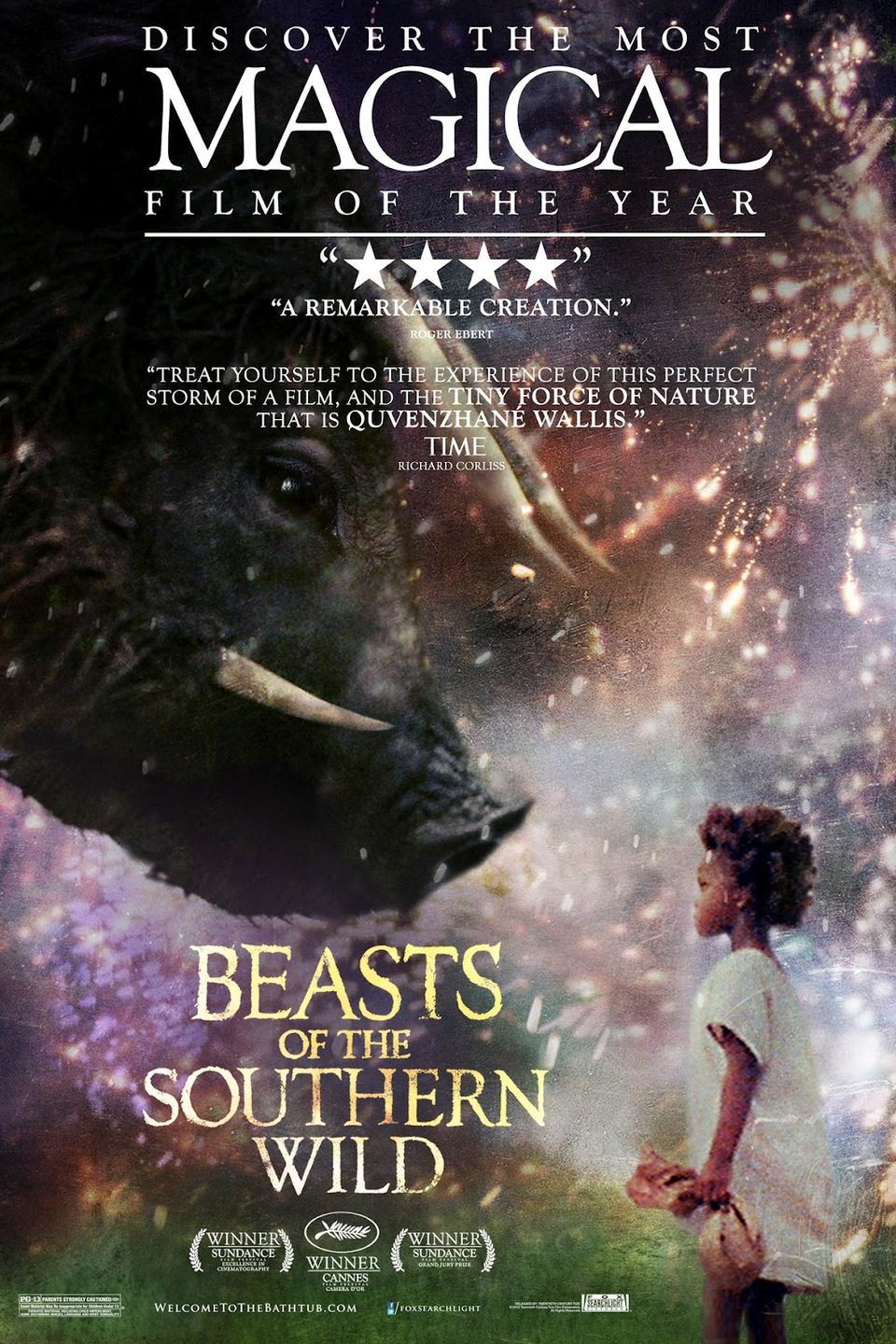 EEUU poster for Beasts of the Southern Wild